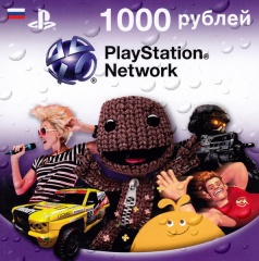 Playstation Network Card 1000